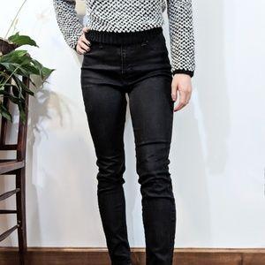 Lucky Brand Black Brooke Legging Jean Size 10